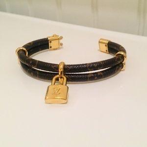 Louis Vuitton Keep if Twice Monogram Bracelet